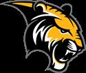 wgms tiger logo black and gold