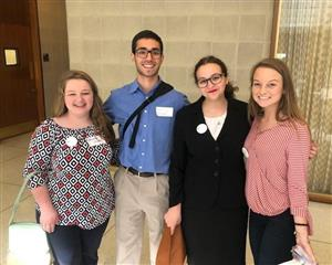 4 Students in the NC Legislative Building