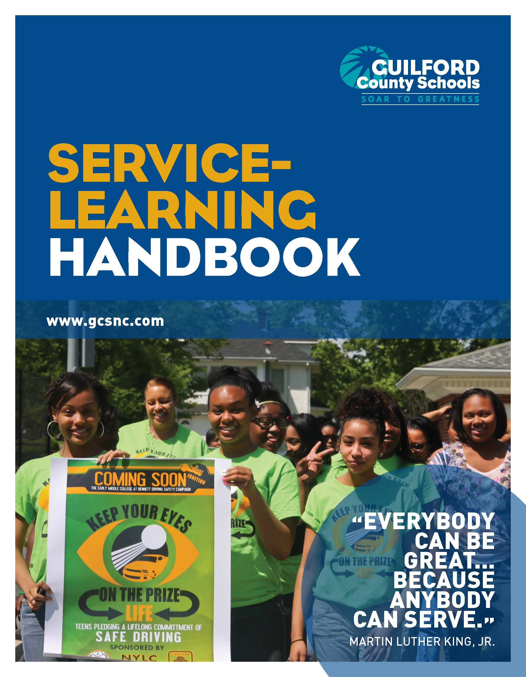 Service Learning Handbook Cover