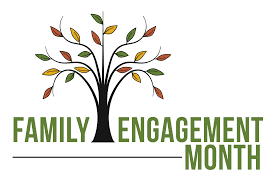 Family Engagement Month Logo