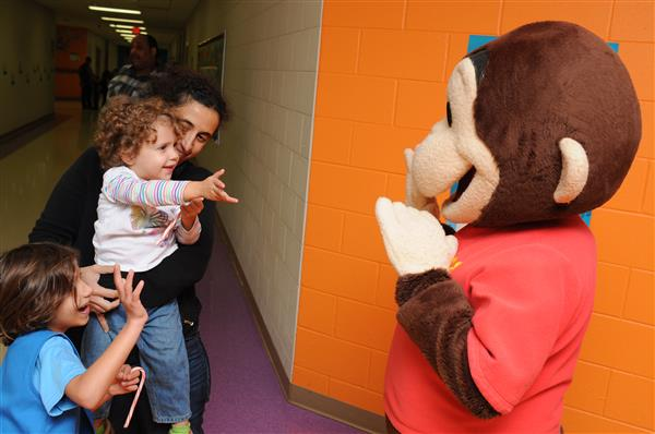 Families Invited to Meet & Read with Curious George