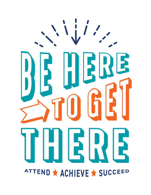 Be Here to Get There Logo