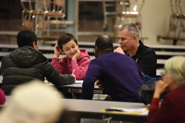 GPA Bring Parents, Middle Schoolers Together for Math Fun