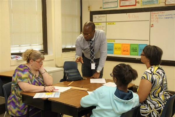 Parents of Middle Schoolers Join GPA for Math Sessions