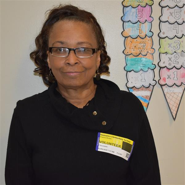 Virginia Brown Named GCS Volunteer of the Month for January 2020