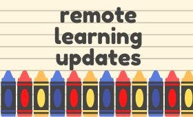 remote learning updates