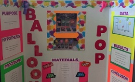 Science Fair Projects due November 8