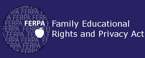 Image reads Family Educational Rights and Privacy Act