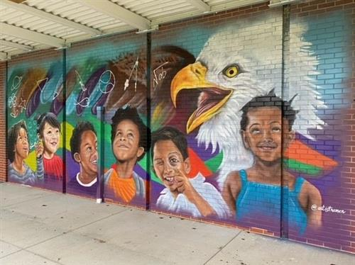 New Mural Art at Fairview