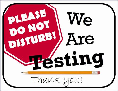 Please Do Not Disturb We Are Testing Thank you