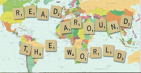 Read Around the World Map Picture of the World