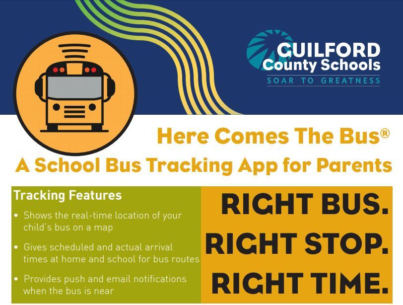 Guilford County Schools_Soar to Greatness_Here Comes the Bus_A School Bus Tracking App for Parents