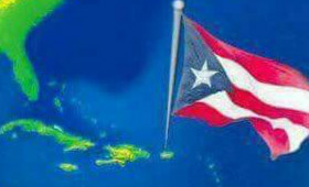 Puerto Rican Flag on Puerto Rico