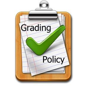 Grading Policy for 4th Quarter