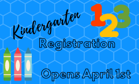 Kindergarten Registration Opens April 1st