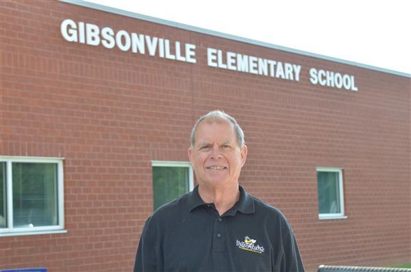 Ricky Sutton at Gibsonville Elementary School