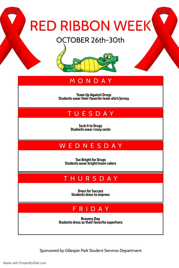 Red Ribbon Week for All