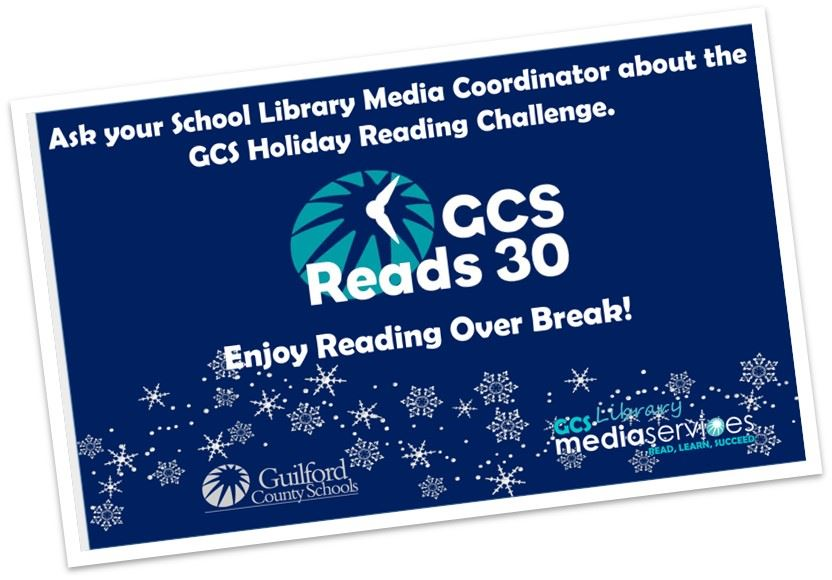 GCS Reading challenge logo