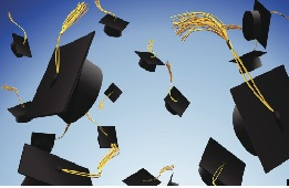 Flying Grad Caps