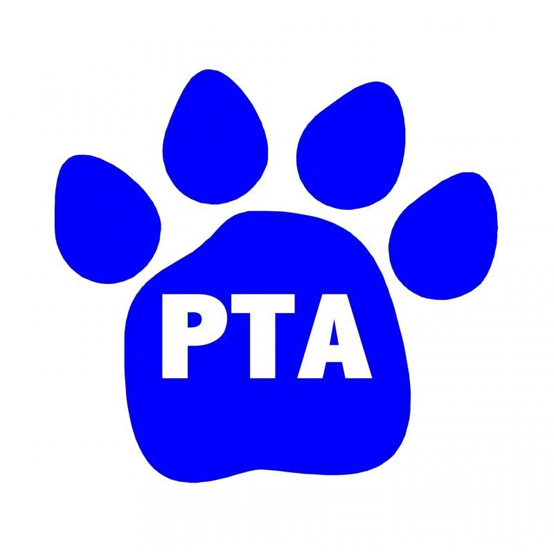Panda Paw with PTA logo