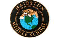 Hairston Logo Displayed