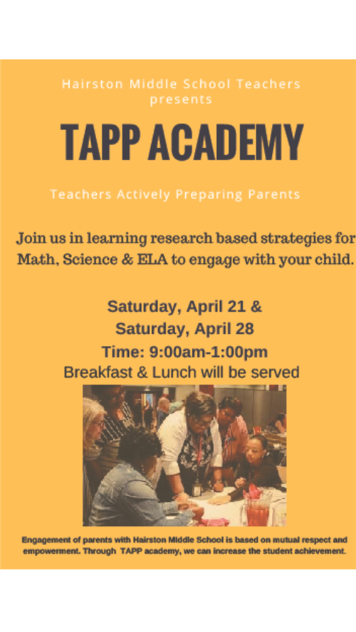 TAPP Academy Poster