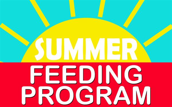 Sunshine with the words summer feeding program
