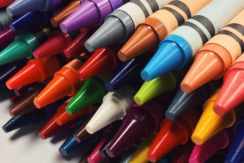 These are crayons.