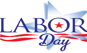 clip art saying Labor Day