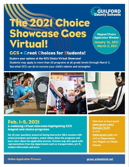 The 2021 Choice Showcase Goes Virtual!  Magnet Window January 14-March 3
