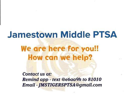 jamestown middle school    homepage