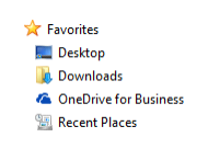 OneDrive in Explorer
