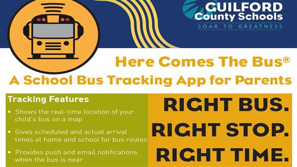 "Kiser Pilot's GCS App ""Here Comes the Bus"" Bus Locator"
