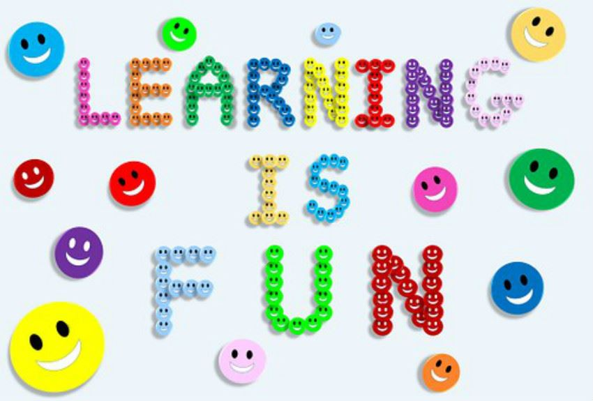 learning is fun quote