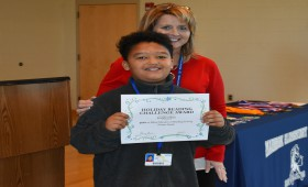 Madison is proud that Josiah Calero won a $25 gift card in the Madison reading challenge!