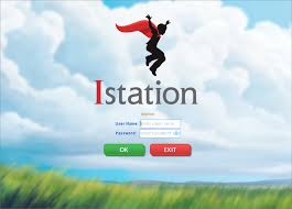 istation icon boy jumping