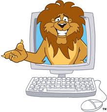 lion in the computer