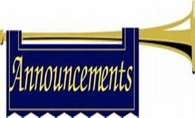 Announcement Banner