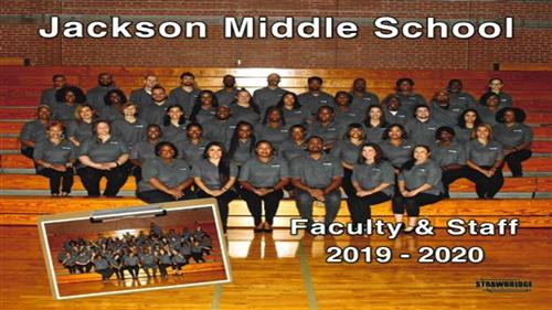 Jackson Middle School Faculty and Staff 2019-2020