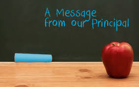 Principal's Connect Ed Messages