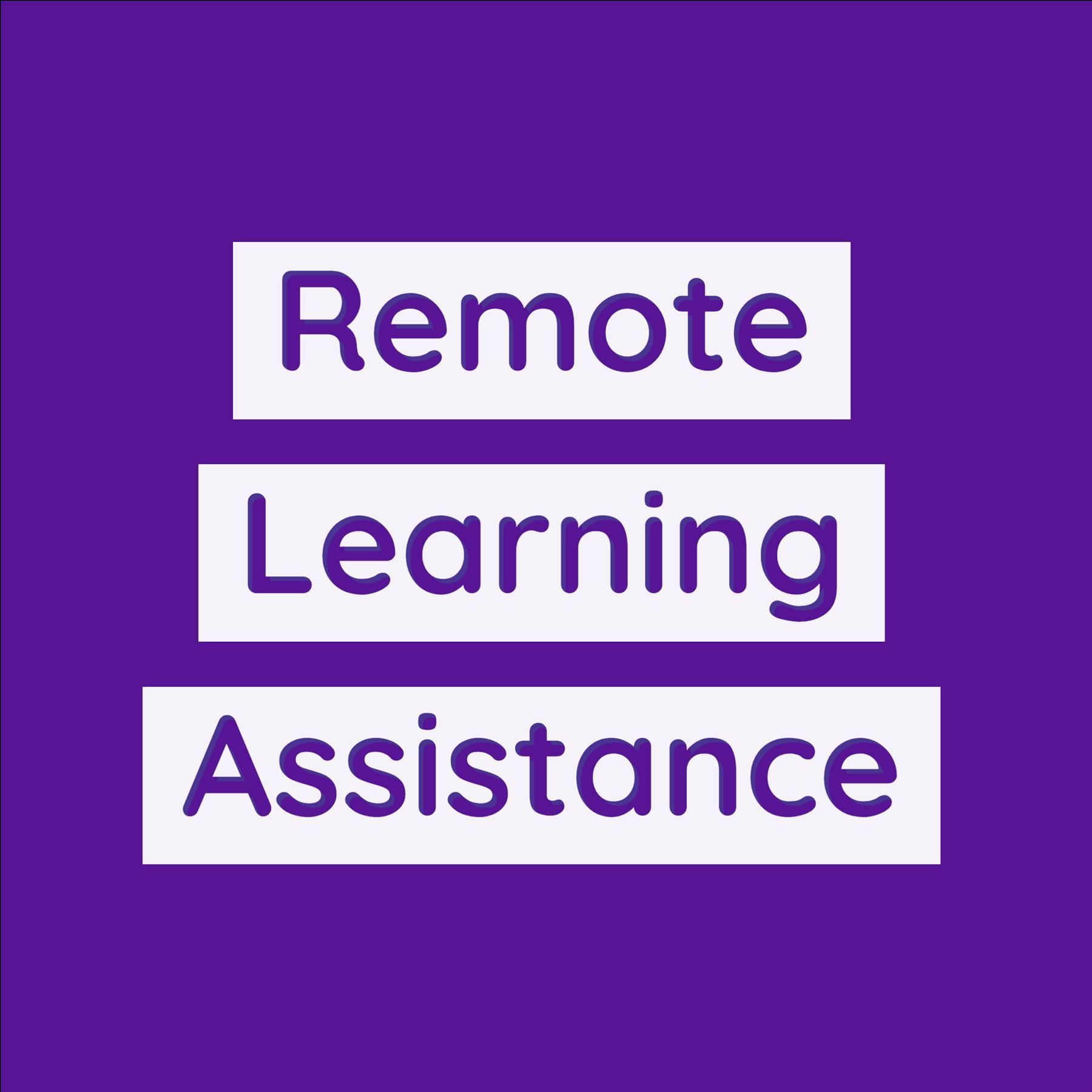 Remote Learning Assistance