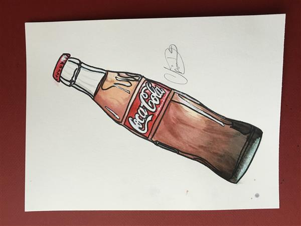 Coke Bottle by Charisma DeBerry