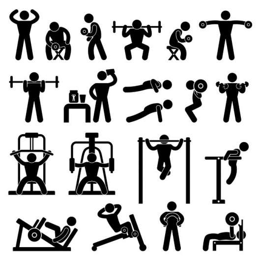 weight training images