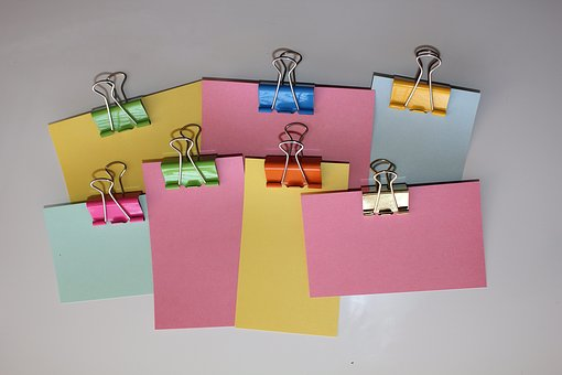image of post it notes