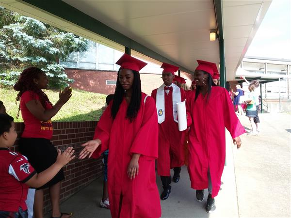 Page High Seniors at Irving Park Elementary