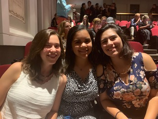 Alexia Ingram and friends at Harvard