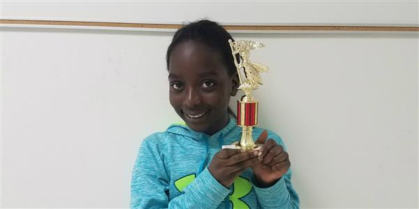 Pearce Student Runner-Up at District Spelling Bee