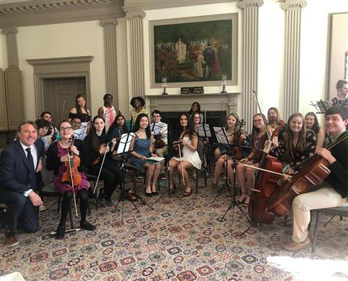 orch senior tea