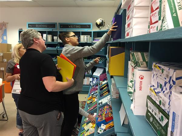 Teachers Shop at Teacher Supply Warehouse