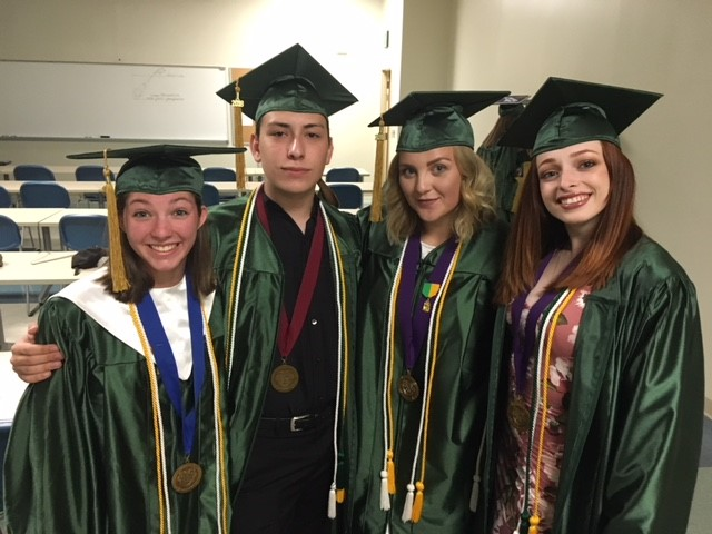 Four Seniors from Penn-Griffin School for the Arts